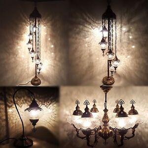 Turkish Moroccan Ottoman Glass Table Floor Chandelier Wall Lamp Light Sconce