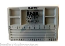 The Beadsmith Beaders Mini Travelers Bead Board with Lid for Jewellery Making