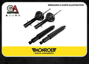 kit 4 ammortizzatori Fiat Panda 169 1.3 1.2 multijet anteriori posteriori Monroe