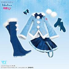 Volks DD Dollfie Dream Snow Hatsune Miku Fluffy Coat Set Japan