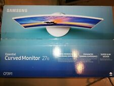 """Brand New Samsung 27"""" Class Curved FHD monitor C27F391"""