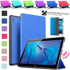Tri-Folding Huawei Smart Case For Tablet T3 8.0, 7.0 Inch ULTRA-SLIM Cover Book