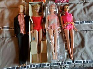 Mattel (2598) Vintage Barbie Lot # One is talking Barbie