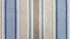 Clarke and Clarke Luella Denim Designer Curtain Craft Upholstery Fabric