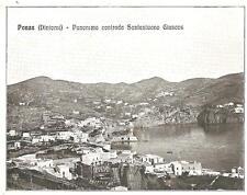 PONZA  ( Dintorni )  -  Panorama contrada Santantuono Giancos