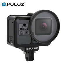 For GoPro HERO7/6/5, PULUZ Housing Shell CNC Aluminum Alloy Protective Cage Case