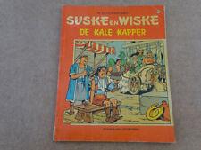 STRIP / SUSKE EN WISKE 122: DE KALE KAPPER-VERKEERD INGEBONDEN MISDRUK 1ste druk
