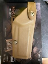 More details for safariland 6004ss - 56  springfield m45a1 holster drop leg marsoc rare holster