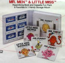 Lot of 6 Mr. Men/Little Miss Cassette/Book Set Roger Hargreaves Rare Vintage NOS
