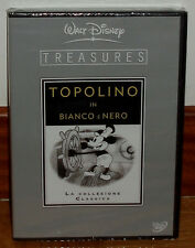 TREASURES DISNEY MICKEY WHITE AND BLACK VOL.1 NEW 2 DVD SPANISH WITHOUT SBRIR R2