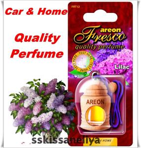 Air Freshener Perfume AREON Fresco LILAC Quality Car or Home Scent Liquid