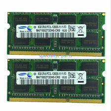New Pair samsung 16GB 2X8GB DDR3L 1.35V PC3-12800 1600MHZ 204Pin laptop memory