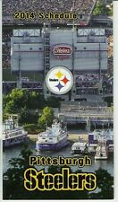 2014 PITTSBURGH STEELERS NFL POCKET SCHEDULE - FREE SHIPPING! AWESOME!