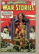 Star Spangled War Stories #108-1963 vg/fn Joe Kubert Dinosaur cover and story