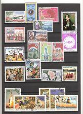 N°405,406 - TCHAD - ( 1963-84 )  - poste aérienne -  46 timbres oblitérés