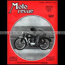 MOTO REVUE N°1092 GILERA 125 SPORT INDIAN MONET GOYON ARDIE TOURIST TROPHY 1952