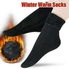 Womens Wool Cashmere Warm Socks Thicken Thermal Snow Solid Winter Floor Sock