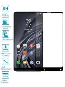 Protector de Pantalla para Xiaomi Mi Mix 2 2S Negro Completo Cristal Templado