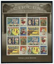 USPS 2014 MINT/NH Scott # 4898-4905 *New* VINTAGE CIRCUS POSTERS BARNUM & BAILEY