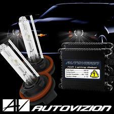 55W 9006/HB4 Headlight Xenon Bulbs & AC Slim Ballasts HID Kit 12000K Purple