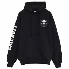 Official Call Of Duty Hoodie - Skull Logo Breast Print - Mens Womens Pullover