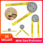 Miter Saw Protractor Dial Accurate Angle Finder with Laser-Engraved Scales US