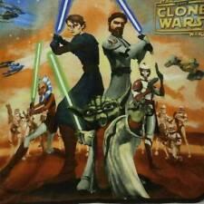 Star Wars Clone Wars Fleece Throw Yoda Anakin 45 X 53