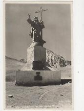Chile Cordillera De Los Andes Cristo Redentor RPPC Postcard Moro US015