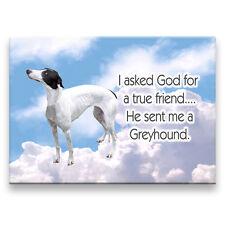 Greyhound True Friend From God Fridge Magnet No 1 Dog