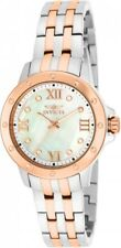 Invicta Womens Angel Quartz Mother-of-Pearl Stainless Steel Bracelet Watch 15366