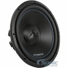 "(2) HIFONICS 2400W 15"" TITAN SERIES Dual 4 Ohm Car Audio Subwoofers 