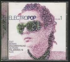 ELECTROPOP VOL 1 Double CD DE/VISION POLARKREIS 18 KLEE 2RAUMWOHNUNG LOWE