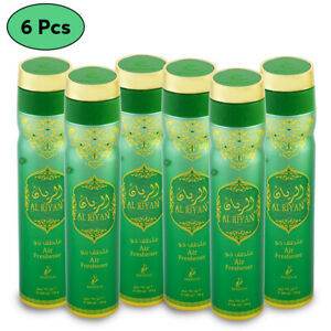 Room Air Freshner AL RIYAN Aerosol Home Fragrance Odour Killer 300ml Khadlaj