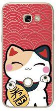 S8 Coque fantaisie de qualité pour Samsung Galaxy S8  ( Lucky cat )
