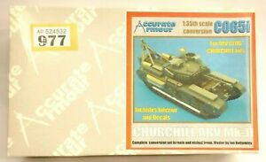Accurate Armour CO65I Conversion Kit For AFV Churchill 1/35TH Scale Boxed O977