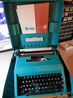 Vintage Olivetti Underwood Studio 45  typewriter- with case, types nice, Spain