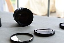 Minolta AF 85mm f1.4 for Sony A-Mount with carrying case and filter