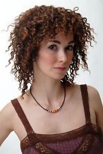 Ladies' Wig Curls Crepe Curl Afro Caribbean Volume Braun Red Brown 4127