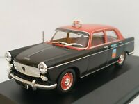1/43 PEUGEOT 404 PARIS TAXI FRANCIA 1962 COCHE METAL CAR ESCALA DIECAST SCALE