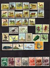 ANGOLA 1956 ANIMALS + OTHERS GOOD TO FINE USED RANGE x 66 STAMPS NOT CAT BY ME