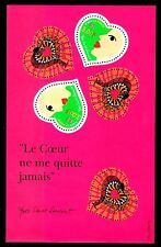 SELLOS FRANCIA 2000 HB 27 HOJA BLOQUE St Valentin de Yves St Laurent