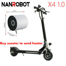 Nanrobot X4 1.0 350W Adult Electric Scooter Foldable 8'' Solid Tire 25Mph