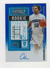 2020-21 Panini Contenders FOTL Cole Anthony Blue Shimmer Chrome RC Auto 13/20
