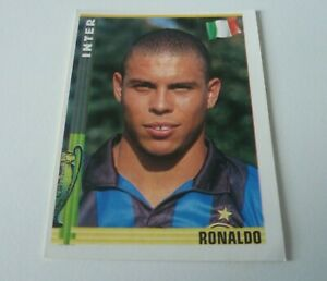 Panini Euro Football sticker 1998/9 RONALDO Brazil Inter Number 47 RARE