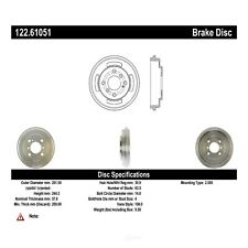 Brake Drum fits 2011-2019 Ford Fiesta  CENTRIC PARTS