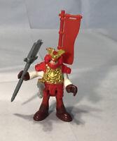Imaginext RED ARMOR  SAMURAI Weapons  warrior action figure Ninja