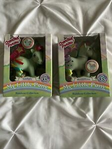 My Little Pony 35th Rainbow Collection Scented Pony Sunlight Moonstone Lot New