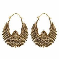 81stgeneration Pendientes Laton Oro Egipcios Ali Bird Colgantes Etnicos