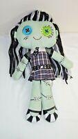 "Monster High FRANKIE STEIN Cloth Rag PLUSH DOLL 18"" Stuffed Toy Mattel"
