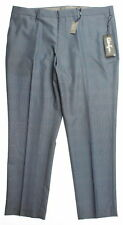 NWT Walter Hagen 11 Majors Athletic Casual Mens Glen Plaid Golf Pants  Navy